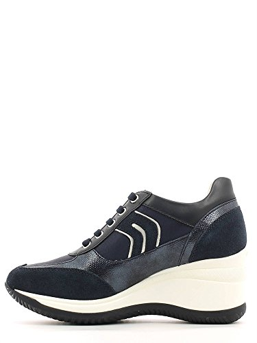 Donna Navy 0as54 Geox Sneakers D4475b wxqXC4A