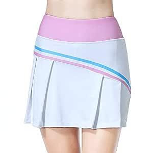 BEROY Falda de Tenis Skort Golf Mujer Pliegues Pantalón Ropa ...
