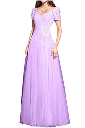 Abschlussballkleider Prinzess A La Tuerkis Linie Marie Braut Abiballkleider Damen Lilac Abendkleider qwTP7Yq