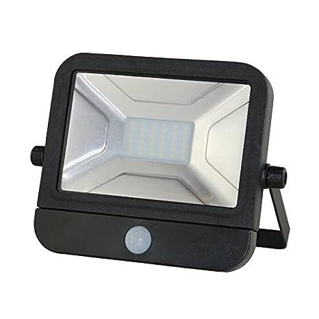 Foco LED Faro Foco 30 W 230 V Blanco Frío con detector de movimiento Sensor