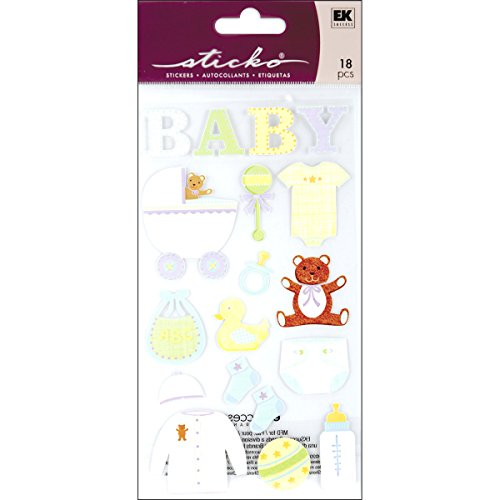 Sticko Baby Objects Stickers