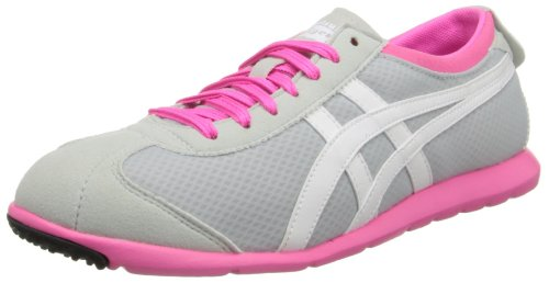 Onitsuka Tiger Vrouwen Rio Runner Lace-up Mode Sneaker Licht Grijs / Wit