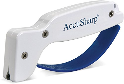 Accusharp 001 Knife Sharpener Reversible Blades for Filet Kn