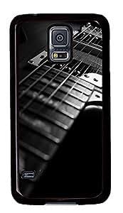rubber Samsung Galaxy S5 case Guitar Black PC Black Custom Samsung Galaxy S5 Case Cover