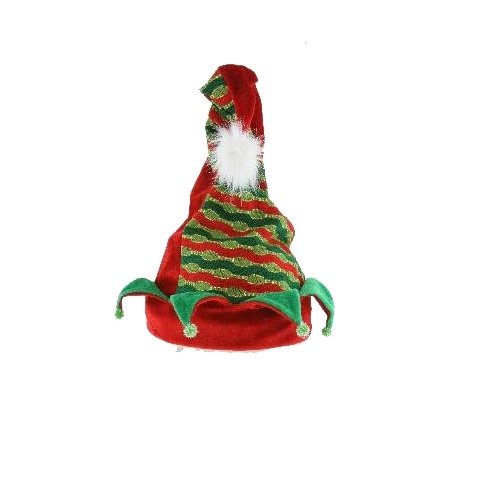 Renaissance 2000 Singing and Rocking Elf Hat, 8 by 8-Inch -