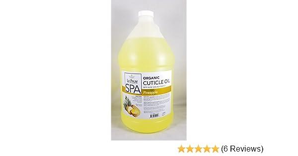 Amazon.com : Cuticle Oil - Pineapple Yellow - 1 Gallon - With Aloe Vera & Vitamin E : Beauty