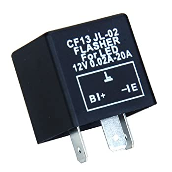3 Pin Car LED Blink Flasher Relay for Turn Signal