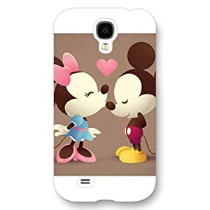 Diy Black Hard Plastic Disney Cartoon Mickey Mouse For Iphone 5/5s Cover Case