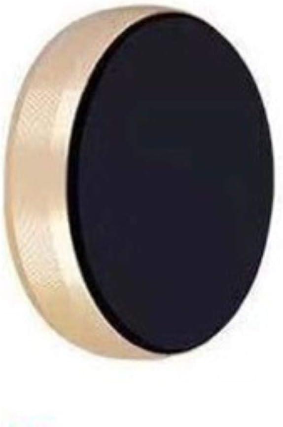 Strong Magnet Phone Holder – Mount - Sticker Multi-Functional – 360 – Perfect for Wall Desktop Car - Dashboard Cellphone-Bracket – Gym – Locker - Air Vent – iPhone – Samsung - Bike - Bed (Gold)