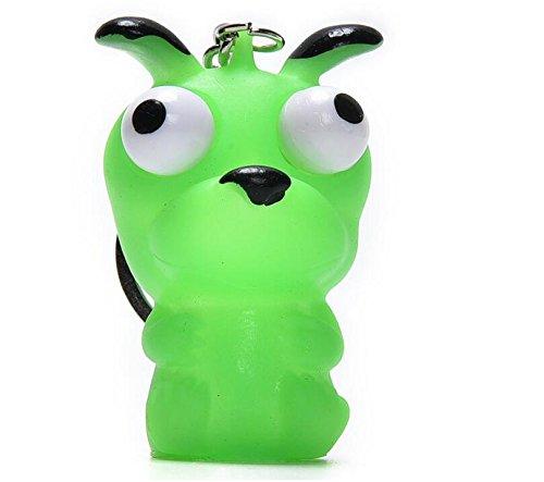 zcsmg Funny Raised ojos mu/ñeca anti estr/és bola llavero apretar juguete de animales color al azar