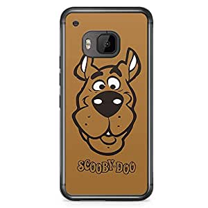 Loud Universe Scooby Doo Face HTC M9 Cover with Transparent Edges