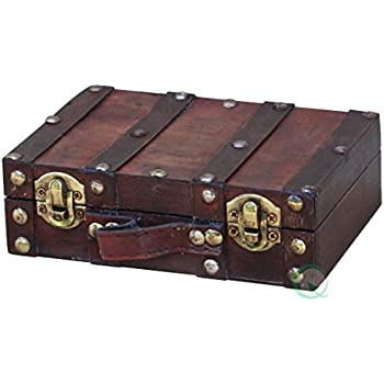 Amazon.com: Vintiquewise(TM) Old-Fashioned Small Suitcase ...