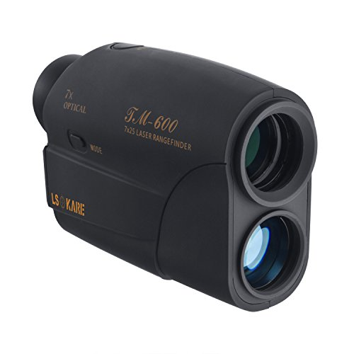 Isokare Golf Rangefinder Ranging Up To 600 Yards, with Only 1 Yard Accuracy, 7 X Magnification Lens Used In Golf Sport, Racing, Archery, Survey,Hunting and Laser Distance Meter