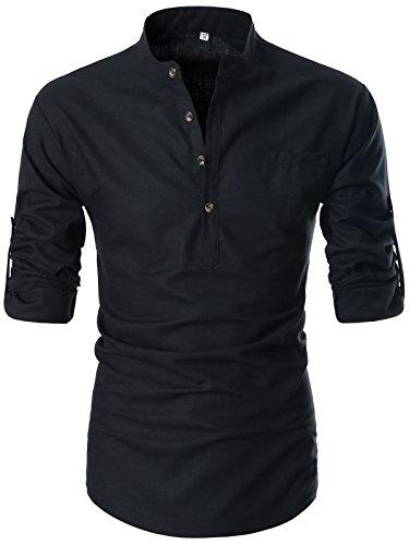 GARSEBO Beloved Henley Sleeve Shirts product image