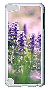 iPod Touch 5th Generation Case Hard Plastic Ipod Touch 5 Case - Black And White Lotus