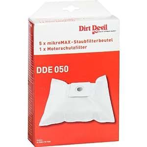 Dirt Devil - Kit de 5 bolsas y filtro para aspirador Mustang M7017