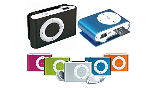 MOBWILL Mini MP3 Player with Data Cable and Earphone