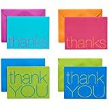 American Greetings Thank You Cards with Envelopes, Bold Multicolored (50-Count)
