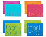 Health & Personal Care : American Greetings Thank You Cards with Envelopes, Bold Multicolored (50-Count)
