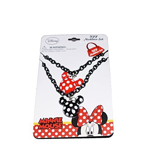 Disney Mickey and Minnie Mouse Baby Girls Dress Up Accessory - Polka Dot Necklace Set
