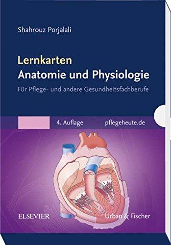 Lernkarten Anatomie und Physiologie: für Pflege- und andere Gesundheitsfachberufe