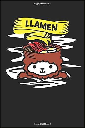 Amazon.com: Llamen: Llama Notebook lined journal and diary ...