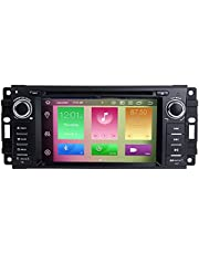BOOYES Voor Jeep Wrangler JK Dodge Ram Challenger Chrysler Android 10.0 Octa Core 4 GB RAM 64 GB ROM 6,2 inch Auto Radio Stereo GPS Systeem Auto Multimedia Speler Ondersteuning Auto Auto Auto Play/TPMS/OBD/4G WiFi/DAB