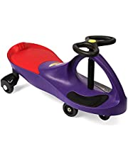 PlasmaCar The Original by PlaSmart – Purple – Ride On Toy, Ages 3 yrs and Up, No Batteries, Gears, or Pedals, Twist, Turn, Wiggle for Endless Fun