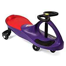 The Original PlasmaCar by PlaSmart - Purple - Ride On Toy, Ages 3 yrs and Up, No batteries, gears or pedals, Twist, Turn, Wiggle for endless fun