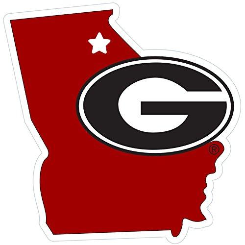 - Siskiyou NCAA Georgia Bulldogs Home State Magnet, 11