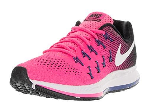 248add14cdbb Nike Air Zoom Pegasus 33 Pink Blast Black Dark Purple Dust White Women s  Running Shoes - Buy Online in Oman.
