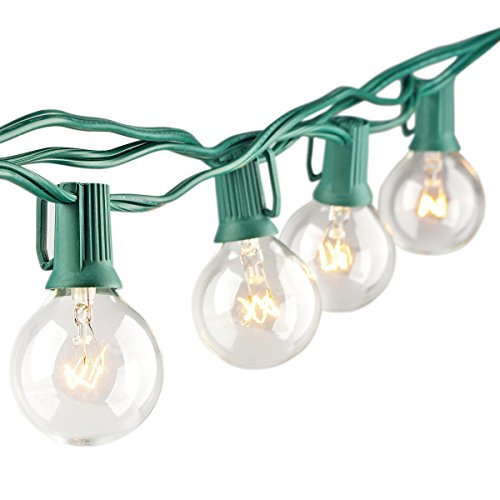 Globe String Light G40 Bulbs