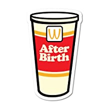 After Birth Slurpee Cup Decal