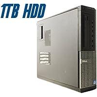 Dell OptiPlex 9010 DT (Intel Quad Core i7-3770 @ 3.40 GHz Up To 3.90 GHz, 8 GB RAM, 1 TB HDD, DVD, VGA, Display Port, Windows 10 Pro) (Certified Refurbished)