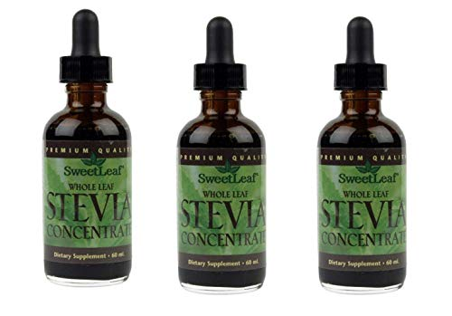 SWEETLEAF STEVIA Stevia Concentrate 2 oz (Set of 3)
