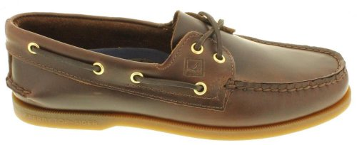 Sperry Topsider Heren Authentieke Originele Amaretto Bootschoen - 7.5 W
