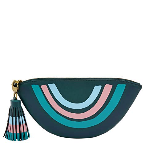 Fossil Zip Pouch Indian Teal