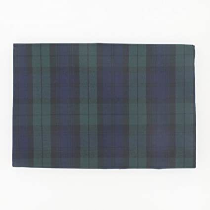 Black Watch Rectangular Plaid Tablecloth 147x225cm