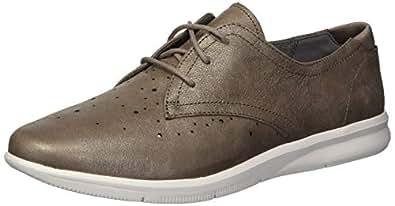 ROCKPORT Women's Ayva Oxford Sneaker, Warm Iron, 5 M US
