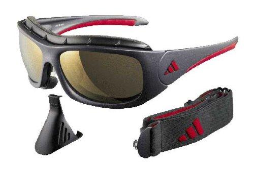 Adidas Terrex Pro gris/rojo gafas de sol deportivas: Amazon ...