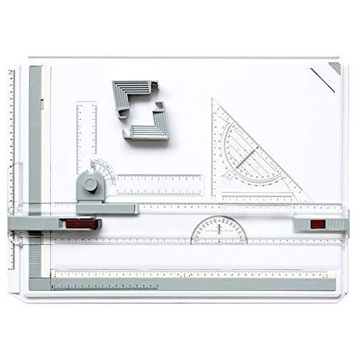 A3 Tablero De Dibujo Multifuncion Colegio Escuela Set De Llaves De A3 Tablero De Dibujo Mesa De Dibujo con Movimiento Paralelo Y Ángulo Ajustable