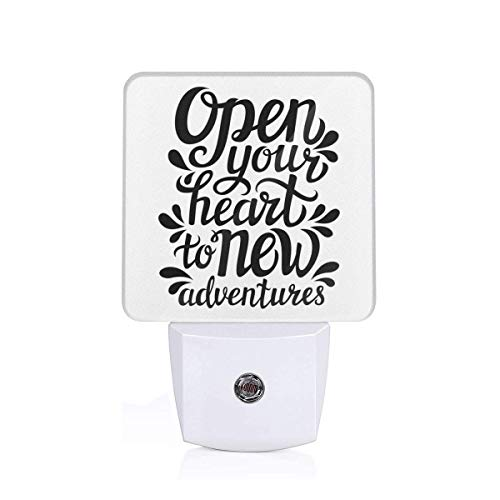Colorful Plug in Night,Open Your Heart New Adventures for sale  Delivered anywhere in Canada