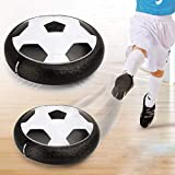 LANCORRY Hover Ball Air Power Soccer Ball Equipped with LED Lights Indoor Football Toy Multi-Surface Hovering and Gliding Outdoor Toy