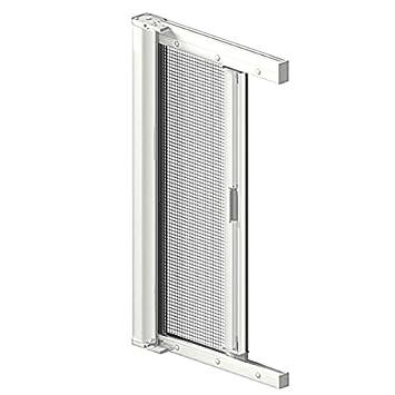 Ordentlich Insektenschutz Tür Rollo weiss (RAL 9016) 120x210 cm: Amazon.de  KY11