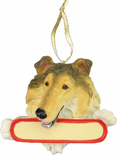 (Collie Ornament