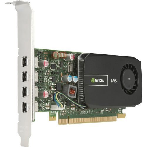nVidia Quadro NVS 510 2GB DDR3 Graphics Card HP 721795-001 700101-002 C2J98AT 4K ()