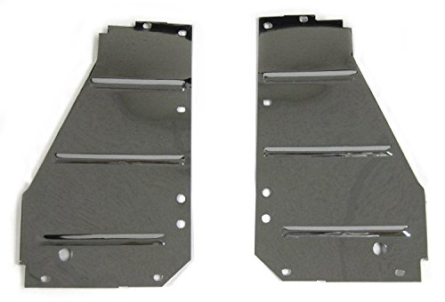- Golden Star Auto CS13-55PC Radiator Support Pair Chrome Core Support Side Filler Panels Radiator Support