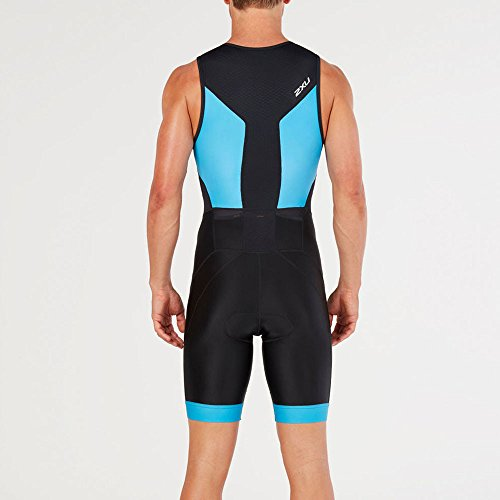 Zip dresden Black Perform Front Blue 2xu gq47AwTnE