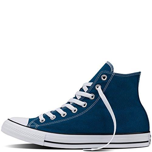Converse All Star Hi Seasonal - Zapatillas abotinadas Unisex adulto Azul