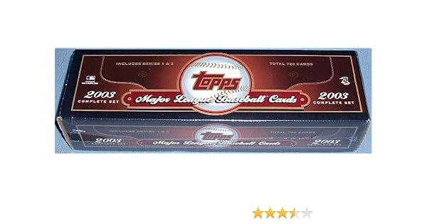 2003 Complete Topps Baseball Factory Set